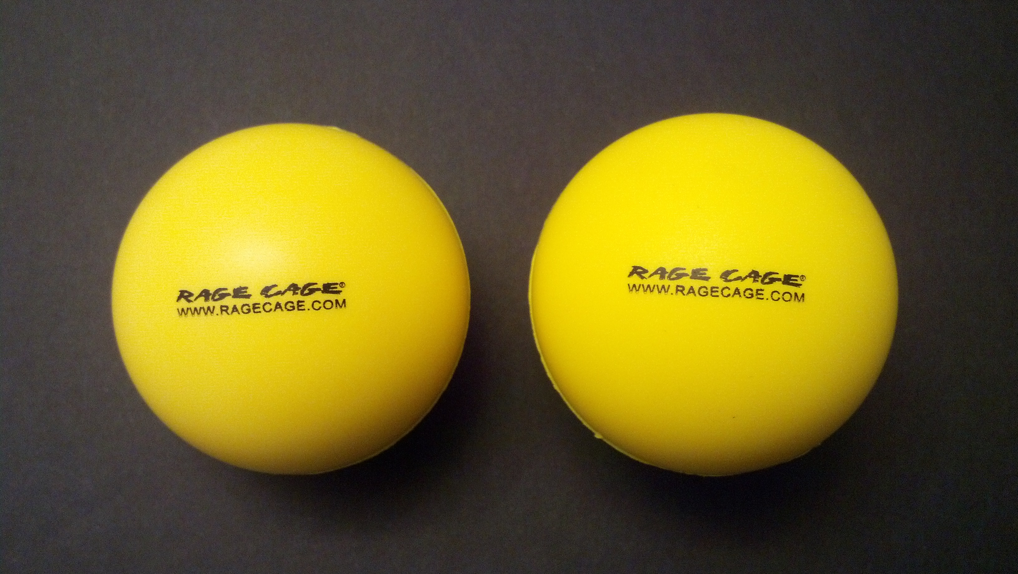 Rage Cage Yellow Balls